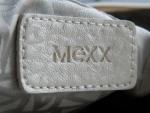 """Маленькая женская сумка """"Mexx"""", золотистая - логотип"""