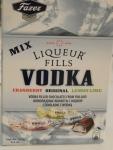 Fazer Liqueur Fills Vodka Mix