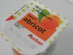Йогурт Auchan Abricot с абрикосом