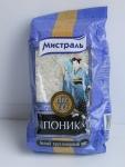 """Белый круглозерный рис Мистраль """"Японика"""" - упаковка"""