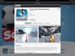 Из приложения 12 дней подарков от iTunes для iPad можно посмотреть подробную информацию о предлагаемых приложениях