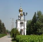 Часовня в честь Рождества Христова (Россия, Тольятти) - вид издалека