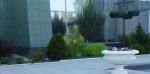 Сад у Тольяттинской Филармонии (Россия, Тольятти)