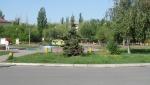 Разобранный памятник у Тольяттинской Филармонии (Россия, Тольятти)