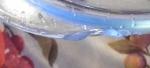 Скол на кастрюле термостойкой с крышкой Helpina