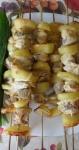 Домашние готовые шашлычки на бамбуковых шпажках Бэст Прайс 75 шт