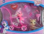 "Набор из двух фигурок пони с аксессуарами ""Happyhorse"" Fun Horse Lovely"