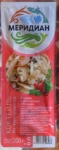 """Коктейль из морепродуктов в масле с пряностями """"Мексико"""" Меридиан - упаковка"""