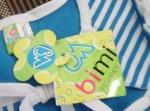 Детский комплект одежды bimi - бирка