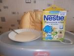 Каша Nestle пшеничная с яблоком