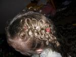 """Лак для волос с блестками """"Сюжет. Сияющая радуга"""" Золотой"""