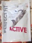 Полнорационный сухой корм Perfect Fit Active с курицей для взрослых кошек - упаковка