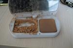 Открытая коробка пудры Bourjois Bio-Detox Organic (оттенок № 54 Beige)