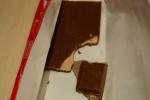"""Кусочки шоколада Alpen Gold """"Клубника с Йогуртом"""""""