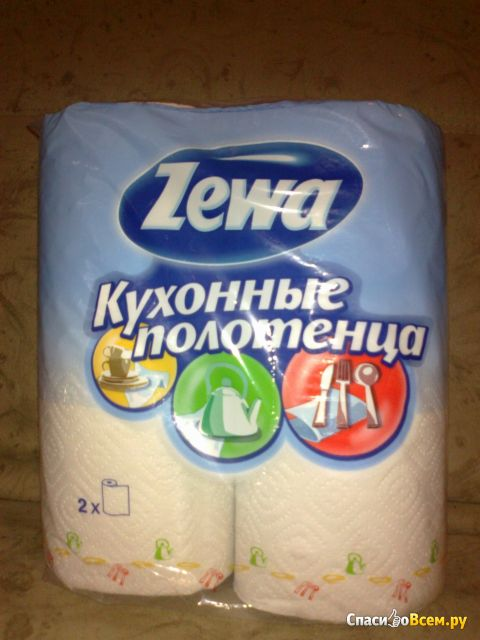 Кухонные полотенца Zewa