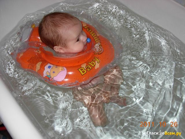 Круг-воротник для купания Baby Swimmer фото