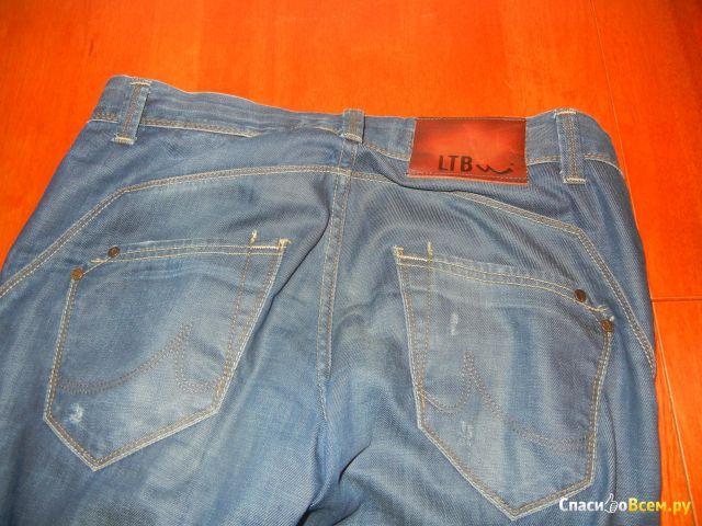 """Мужские джинсы """"LTB"""" oliver super slim темно-синие фото"""