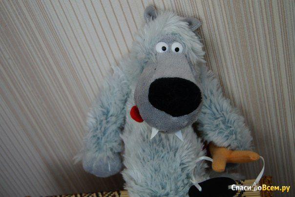 Мягкая игрушка волк Вован Fancy фото
