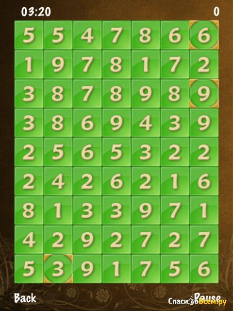 Игра NumCruncher для iOS фото