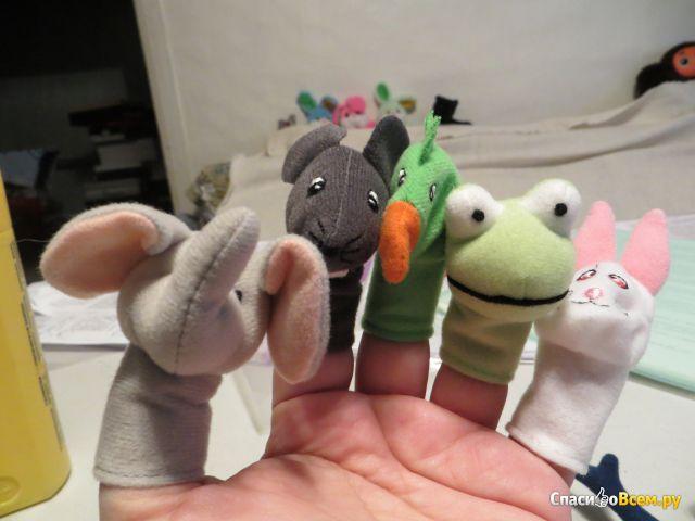 Куклы на палец Титта Дьюр IKEA фото
