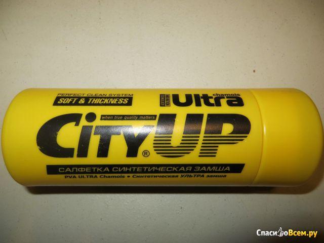 Салфетка City UP синтетическая замша