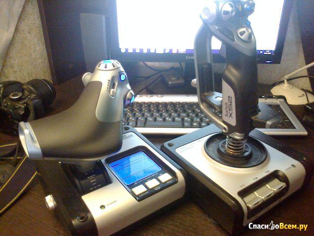 Джойстик Saitek X52 Flight Control System фото