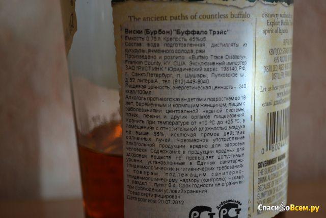 Виски Buffalo Trace фото