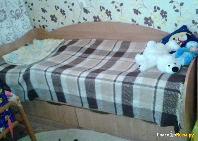 """Детская кровать """"Дешевая мебель тут"""" Кроха фото"""