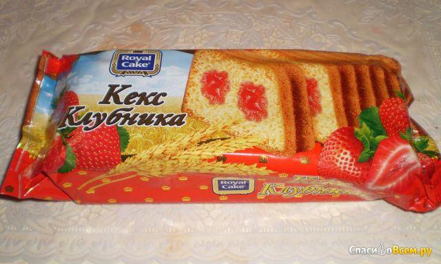 """Кекс """"Royal Cake"""" Клубника фото"""