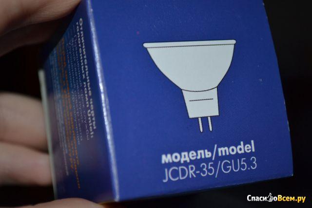Галогенная лампа Uniel JCDR-35/GU5.3 фото