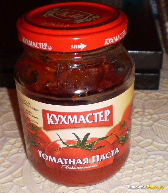 "Томатная паста ""Кухмастер"""