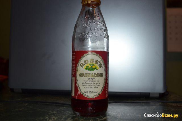 Сироп Rose's Grenadine Syrup
