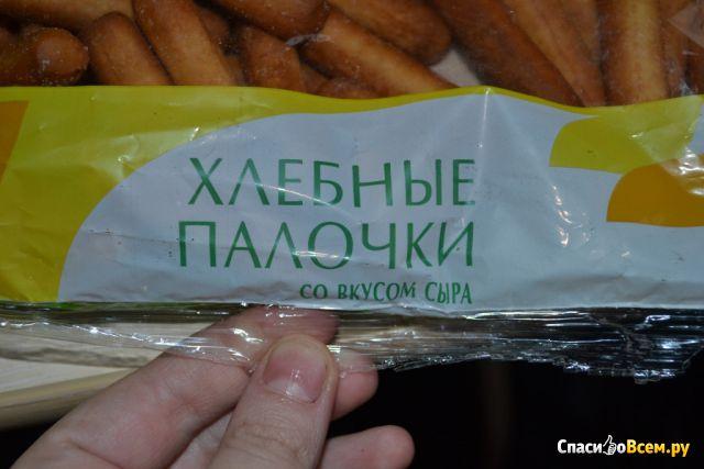 """Хлебные палочки со вкусом сыра """"Здоровый стиль"""" фото"""