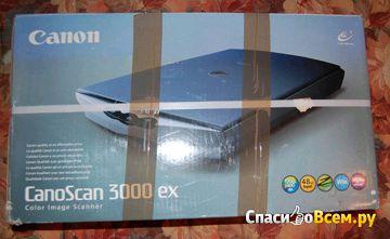 Сканер Canon CanoScan 3000ex фото
