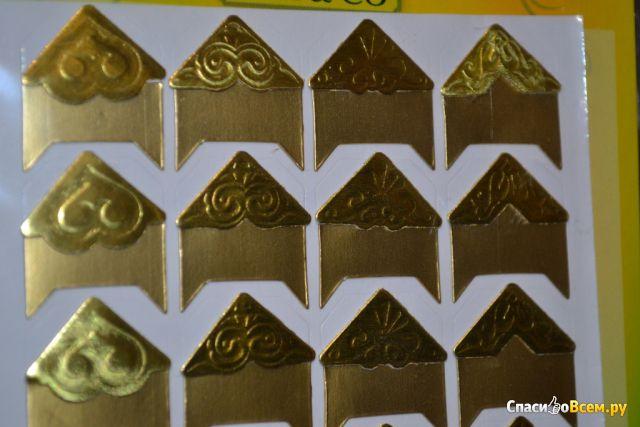 Наклейки-уголки Ami&Co арт. LFVE001-1 для оформления фотографий