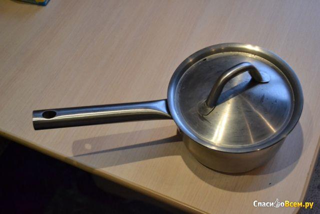 Ковш с крышкой, нержавеющая сталь IKEA/365+ фото