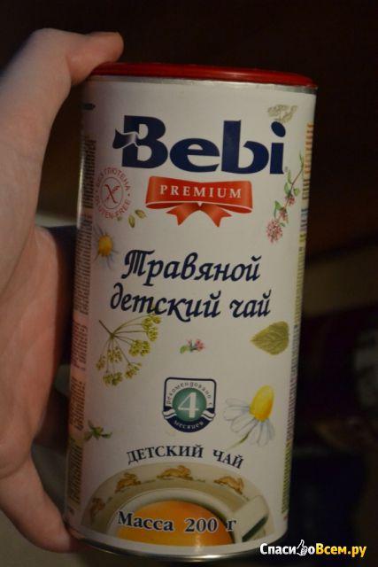 Детский чай Травяной Bebi Premium фото