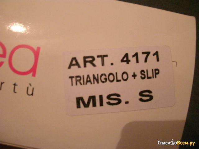 Комплект женского белья Jadea 4171 triangolo + slip фото