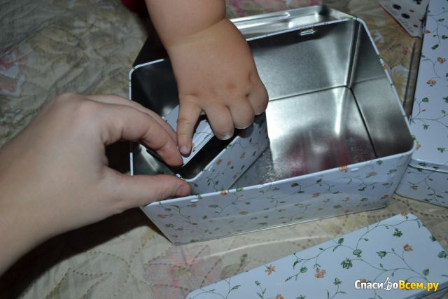 Набор банок ИКЕА ФЛАТЭН, 7 штук фото