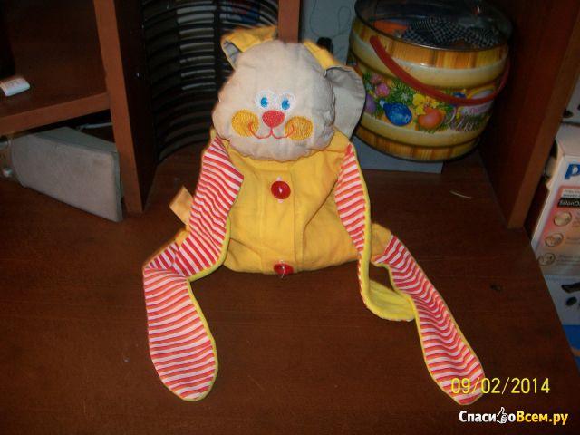 "Термоигрушка ""Доктор Мякиш: Крошка-зайка"" с вишневыми косточками фото"