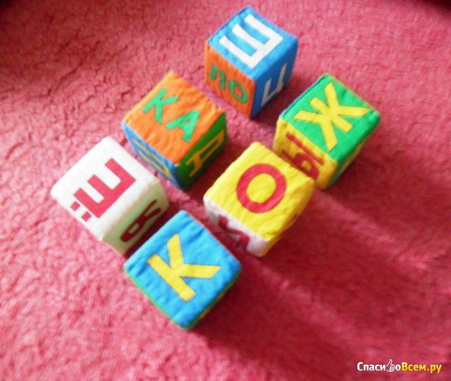 """Мягкие кубики """"Мякиши"""" фото"""