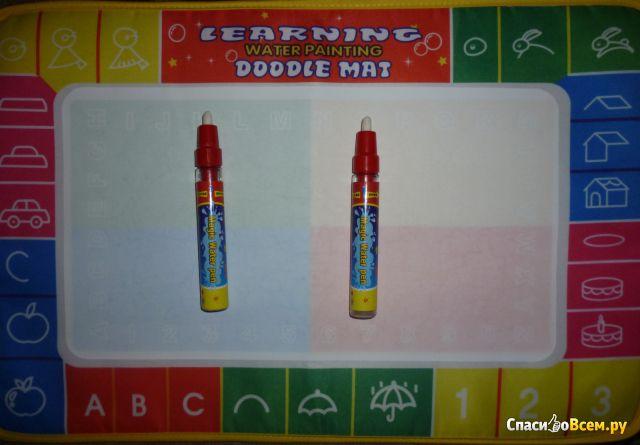Набор для рисования Kid Painting Drawing Water Writing Aquadoodle Board Mat Magic Pen Doodle Toy фото