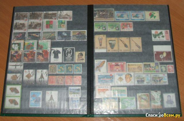 """Кляссер (альбом) для марок """"Leuchtturm"""" А4, 16 листов LS 4/16"""