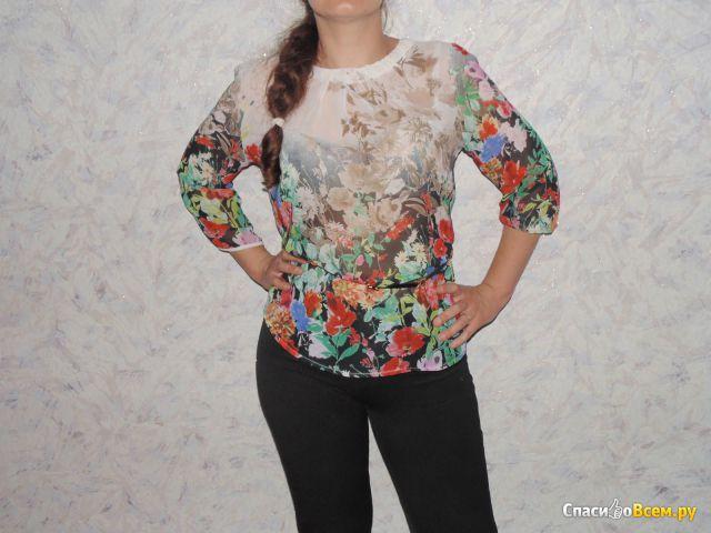 Женская блуза Mangosteen 4119-02 fancy фото