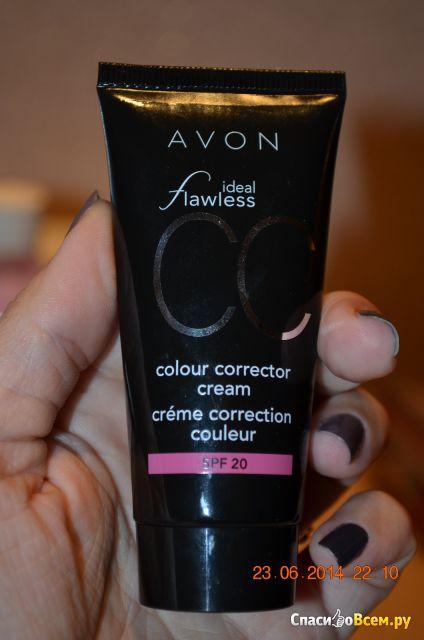 """Увлажняющий корректирующий крем с тональным эффектом Avon CC """"Идеальный оттенок"""" SPF 20 фото"""