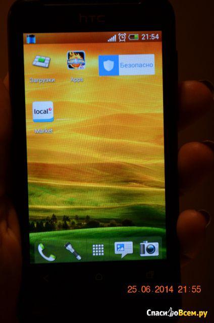 Смартфон HTC One V фото