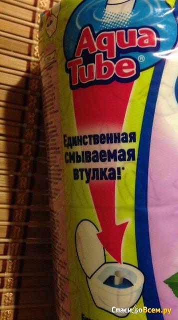 """Туалетная бумага Zewa Плюс Aqua Tube """"Аромат сирени"""" фото"""