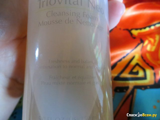 Чистящая пенка-мусс для лица Triovital Neo Vision фото