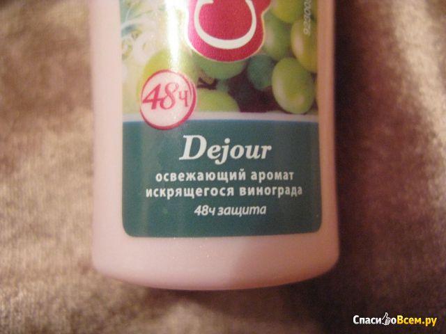 Роликовый дезодорант-антиперспирант Camay Dejour с ароматом искрящегося винограда фото