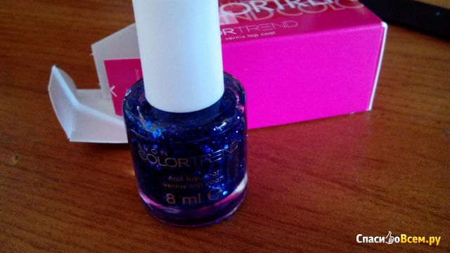 Лак-покрытие для ногтей Avon Color Trend Blue Burst фото